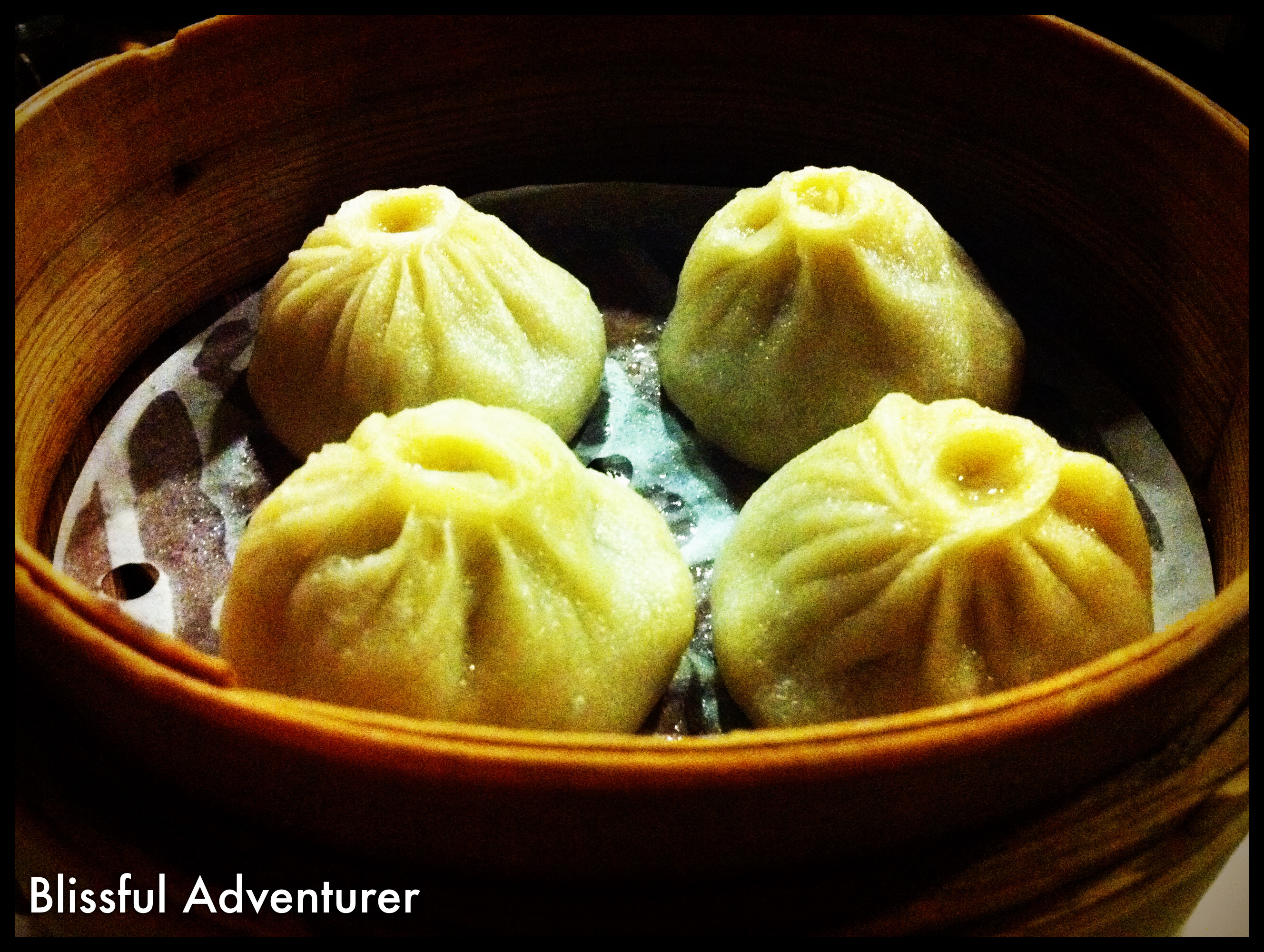 "French Onion"" Soup Dumplings - An amazing start to the evening!"